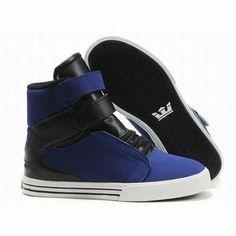 supra tk society blue black high top footwear mens #shoes