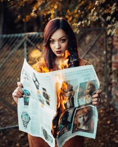 Gorgeous Female Portrait Photography by Liltone Morris