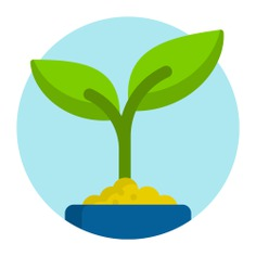 See more icon inspiration related to leaf, plant, enviroment, growing plant, farming and gardening, botanical, garden, leaves, natural and nature on Flaticon.