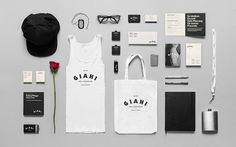 Giahi on Behance #branding