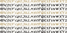 Penzance typeface (font) designed by Thoma Kikis. Teknike.com - #penzance #typeface #font #kikis #thomakikis #handwriting #greek #latin #cyrillic #teknike