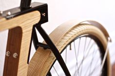 Thibaut Malet via www.mr cup.com #simple #wood #bicycle