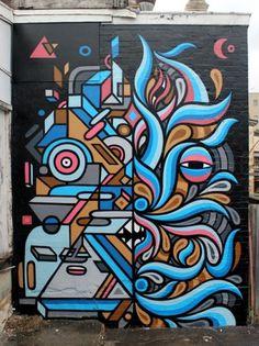 BEASTMAN #grafitti #brad #illustration #eastman #art
