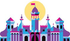From Up On That Lofty Tower — Justin Mezzell #icon #city #illustration #building #castle