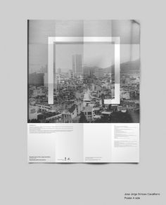 Jorge_poster-A-side | Flickr - Photo Sharing! #ckcheang #somethingmoon #design #graphic #poster #brochure