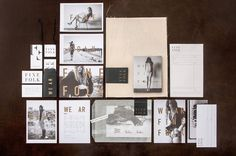 A new brand identity for Finefolk by Design Ranch | Creative Boom #branding #print #identity #collateral #fashion