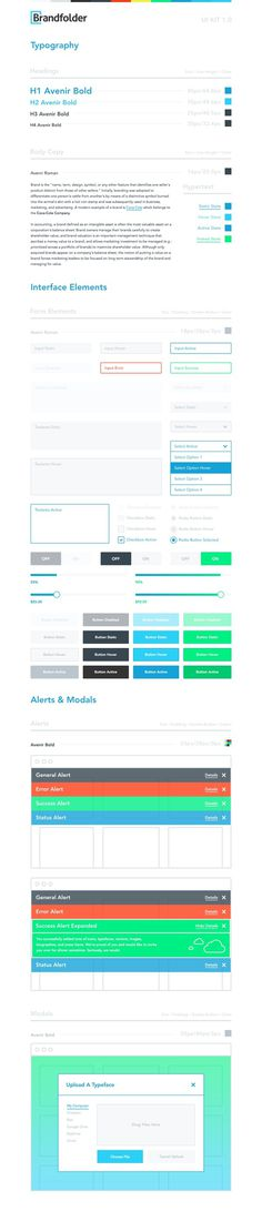 Brandfolder ui kit full #kit #ui