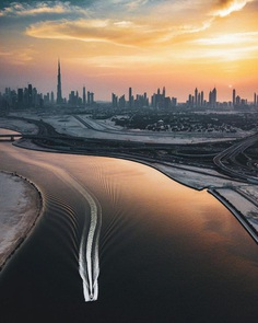 Dubai From Above: Striking Drone Photography by Husain Ujjainwala