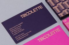 kentlyons_tricolette_03 #business card #stationery