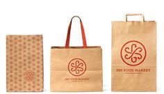 SSG Food Market Logo and Identity #design #graphic #identity