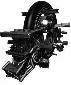 Gantz – Monowheel Weapon #weapon #design #comic #mobile #art #future #gantz