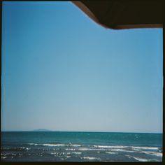 Castiglione della Pescaia #traveling #lomography #diana #f+ #photography #tuscany #sea #italy