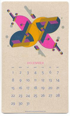 Description #print #calendar #geometry