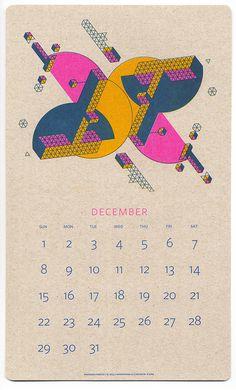 Description #print #calendar #geometry