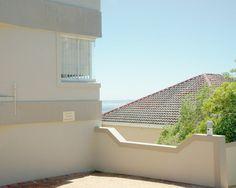 building, roof, tree, sea, view, horizon, seaside, beach