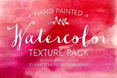 The Watercolor Texture Pack - Textures