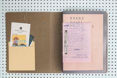 design, folder, brand