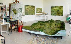 amybennett-9 #landscape #nature #scene #art #miniature
