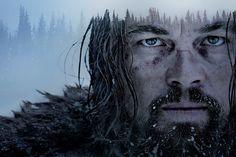 Leonardo DiCaprio revenant double exposure