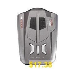 V9 #Vehicle #Radar #Detector #360 #Degrees #Tracker #Laser #Voice #Alert #- #GRAY