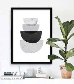 Abstract Wall Art designed by iloveprintable.com