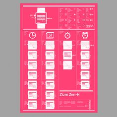 Nooka_instruction_manual_zizm #nooka #infographs
