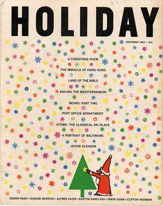 vintage magazine, mid century
