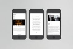 Beck & Robertson (BAR) by Thomas Williams & Co. #website #web #design #mobile #iphone