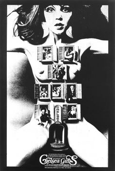 Chelsea+Girls+Poster+4342.jpg 750×1,108 pixels #movie #black #warhol #poster