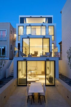 50 Oakwood House by Stanley Saitowitz-Natoma Architects 17