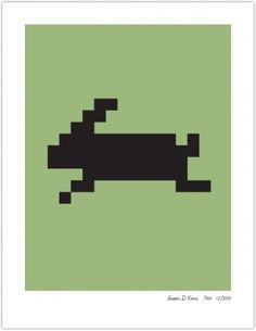 HARE | Susan Kare Prints #apple #icons #poster