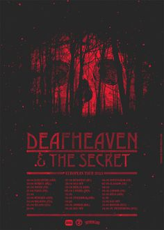 GigPosters.com Deafheaven Secret, The #poster