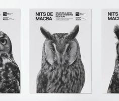 Macba ruiz+company #blackwhite #poster