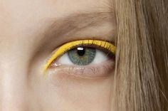mellow yellow #yellow #makeup
