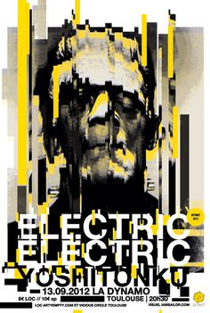 ELECTRIC ELECTRIC - Romain Barbot | IAMSAILOR #design #graphic #poster