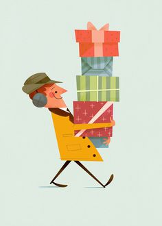 Andrew Kolb #cute #illustration #vintage