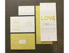 Graphic-ExchanGE - a selection of graphic projects #layout #design #wedding #minimal