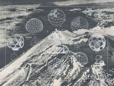 architecturebuckminsterfuller #geometry #drawing #dome #buckminster fuller #geodesic