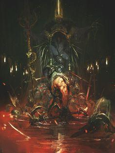 ArtStation - The Rotten King, Reynan Sanchez #reynan sanchez #bloody