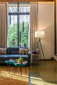living area, Ahmedabad, India / ADHWA architecture . interiors