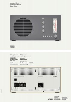 Less and More: Dieter Rams | Bibliothèque Design