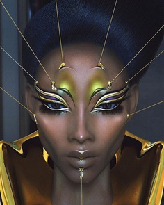 Futuristic Fashion and Glamour Photography by Marcelo Cantu