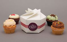 The Online Portfolio of Bec Heath #packaging #cupcakes #desgin #cakes