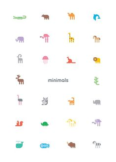 Image of A Z Poster #poster #icons #animals