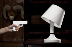 Bang! Desk Lamp From bitplay Inc #lamp #design #gadget #home