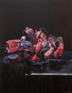 Oil Paintings by Joram Roukes