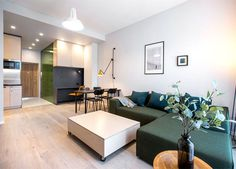 37 Sqm Apartment With a Cozy Feel and Lots Of Storage - InteriorZine