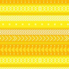Greathearted Tribal Geometric by penina, click to purchase fabric #fabric #yellow #pattern