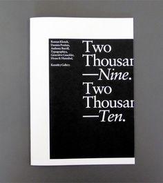 Two Thousand Nine / Two Thousand Ten