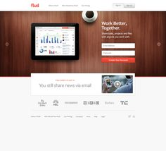 Flud_full #simple #layout #web #clean